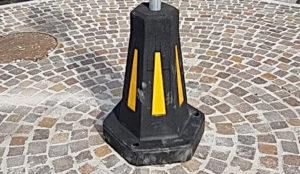 Dissuasori di sosta in gomma riciclata – Archimede