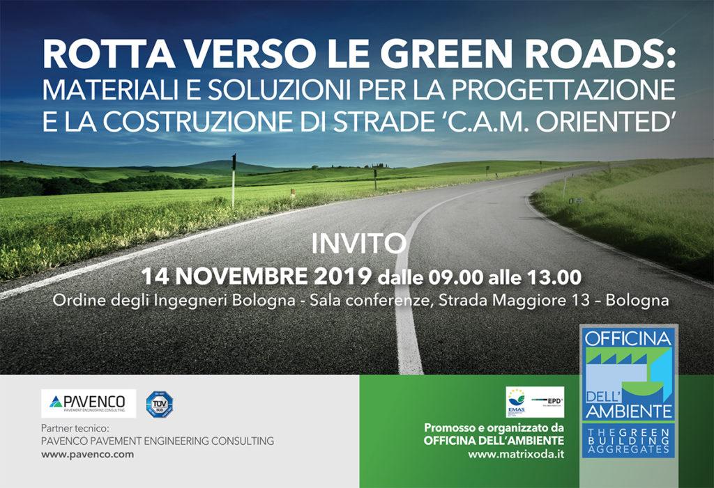 ROTTA VERSO LE GREEN ROADS
