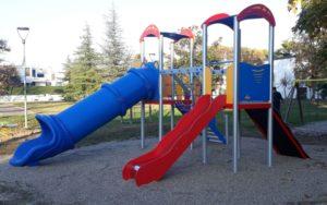 Scivoli in plastica per giochi per parchi pubblici