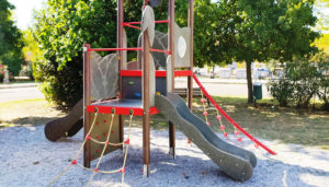 Pali in plastica per giochi per parchi pubblici